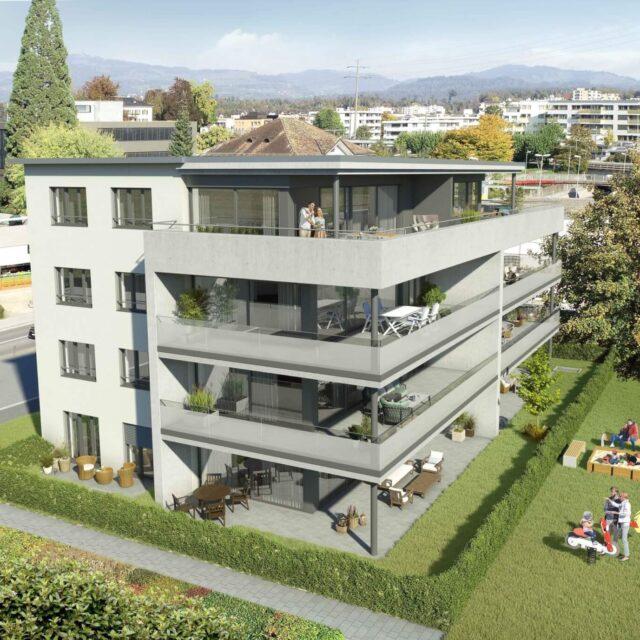 Wohn- und Geschäftshaus Rapperswil